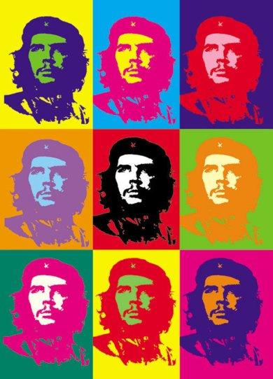 Che Guevara façon pop art