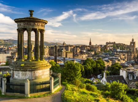 Vue d'Edimbourg