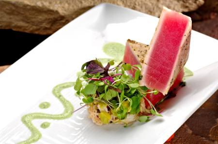 Plat de poisson et design culinaire