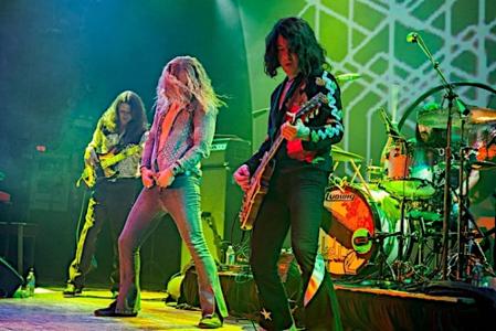 Led Zeppelin groupe mythique de hard rock