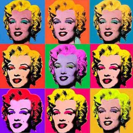 Marylin pop art