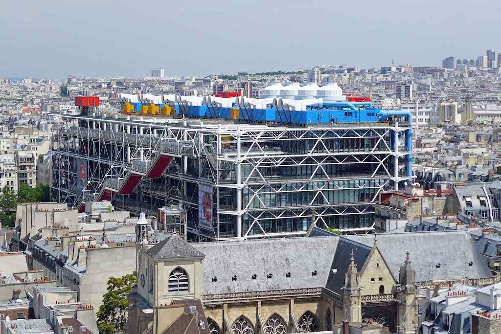 Centre Beaubourg de la tour St Jacques