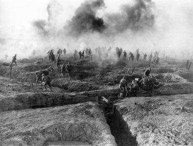 Les tranchées lors de la première guerre mondiale