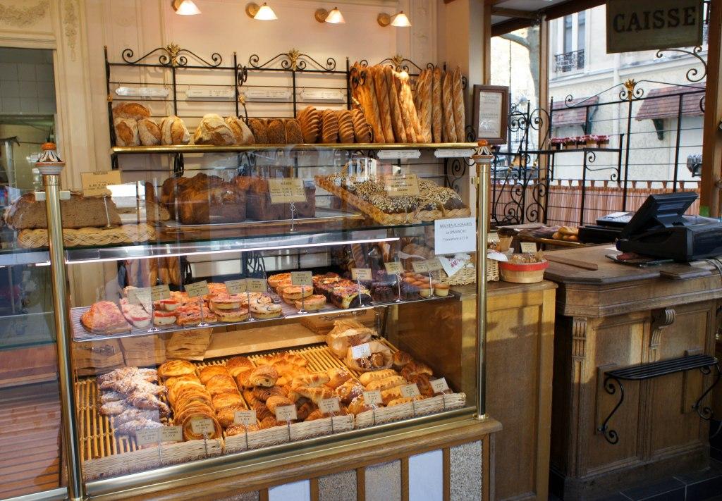 Devanture de boulangerie traditionnelle
