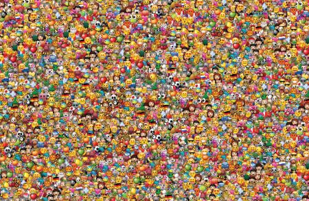 Mur d'emojis