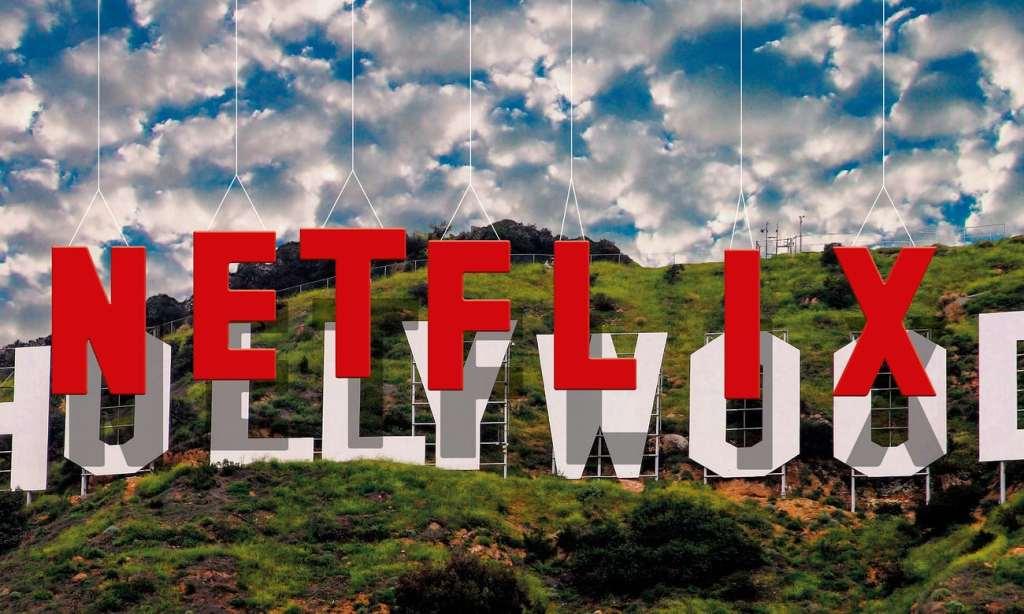Netflix faisant de l'ombre aux majors d'Holywood