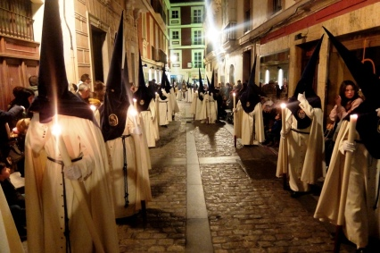 La procession à la semaine sainte Cadix