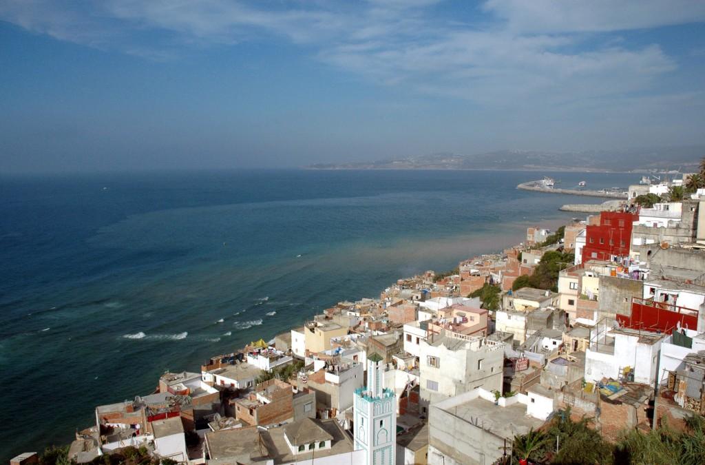 Tanger vue mer